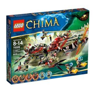 Lego Chima 70006 | Craggers Croc-Boot Zentrale | günstig kaufen