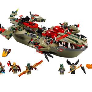 Lego Chima 70006 | Craggers Croc-Boot Zentrale | 2
