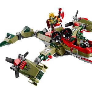Lego Chima 70006 | Craggers Croc-Boot Zentrale | 3