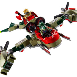 Lego Chima 70006 | Craggers Croc-Boot Zentrale | 4