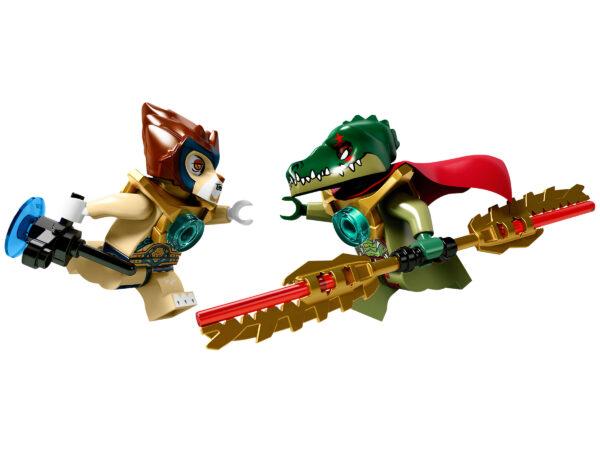 Lego Chima 70006 | Craggers Croc-Boot Zentrale | 5