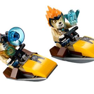 Lego Chima 70006 | Craggers Croc-Boot Zentrale | 6
