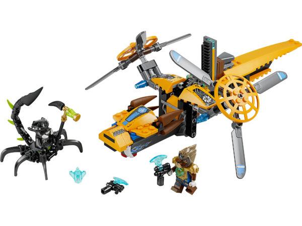 Lego Chima 70129 | Lavertus Löwen-Jet | 2