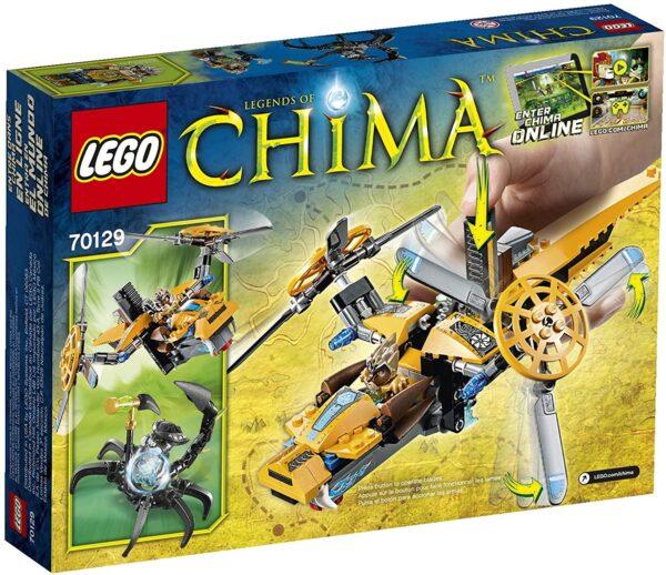 Lego Chima 70129 | Lavertus Löwen-Jet | 3