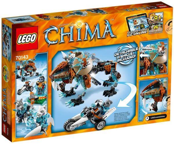 Lego Chima 70143   Sir Fangars Säbelzahn-Roboter   2