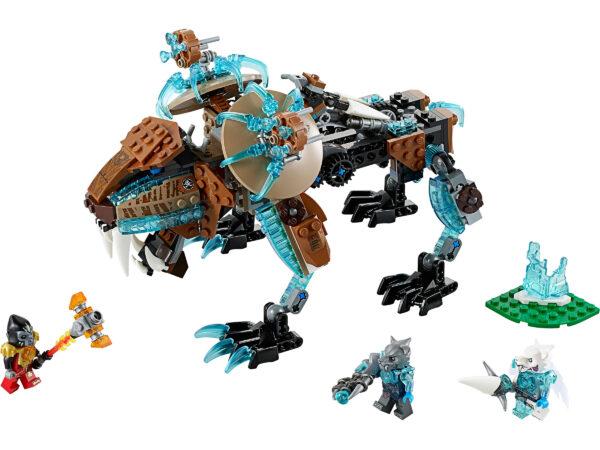 Lego Chima 70143   Sir Fangars Säbelzahn-Roboter   3