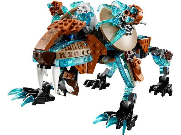 Lego Chima 70143   Sir Fangars Säbelzahn-Roboter   4