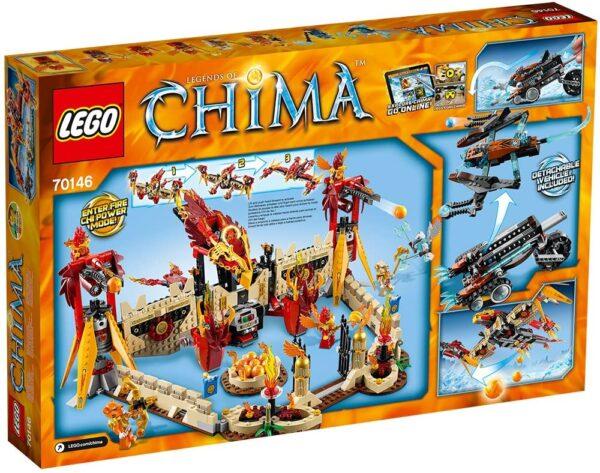 Lego Chima 70146 | Phoenix Fliegender Feuertempel | 2