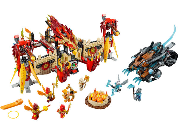 Lego Chima 70146 | Phoenix Fliegender Feuertempel | 3