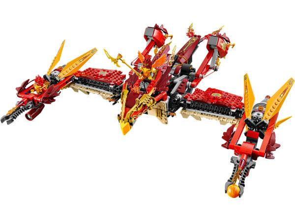 Lego Chima 70146 | Phoenix Fliegender Feuertempel | 4