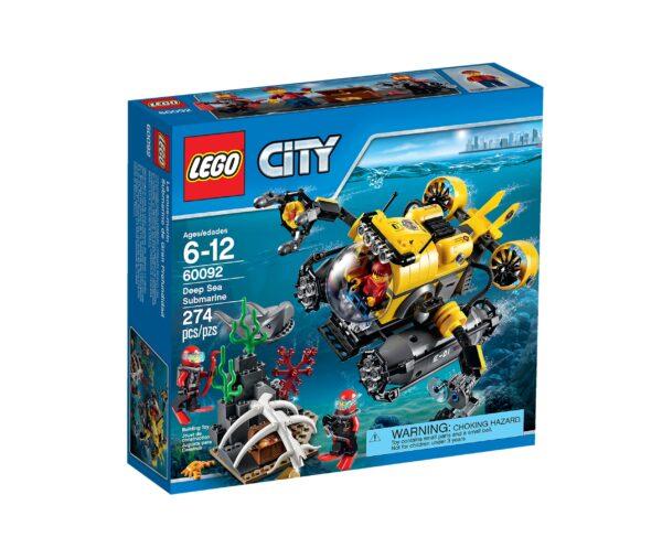 Lego City 60092   Tiefsee-U-Boot   günstig kaufen