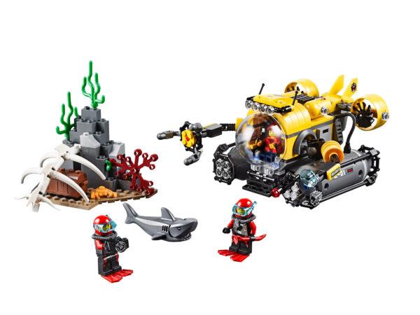 Lego City 60092   Tiefsee-U-Boot   3