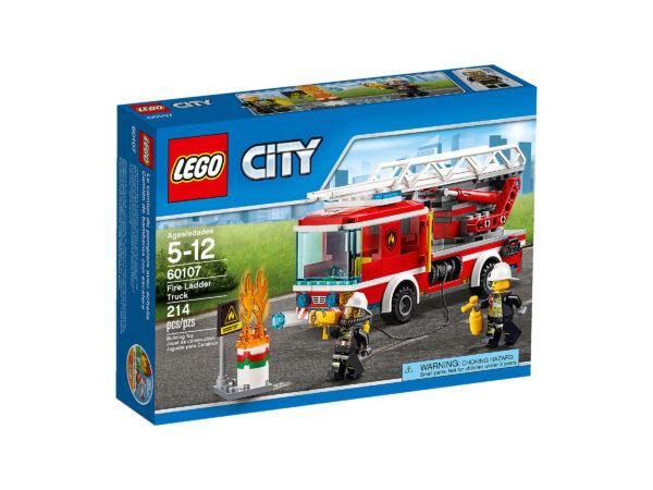 Lego City 60107 | Feuerwehrfahrzeug mit fahrbarer Leiter | günstig kaufen