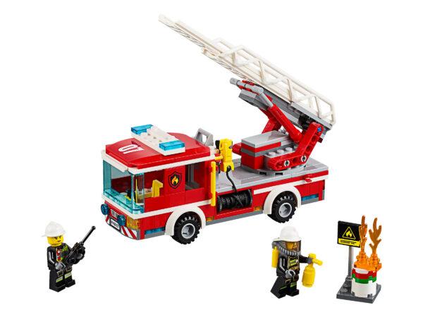 Lego City 60107 | Feuerwehrfahrzeug mit fahrbarer Leiter | 2