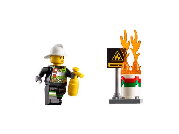 Lego City 60107 | Feuerwehrfahrzeug mit fahrbarer Leiter | 5
