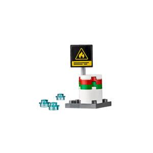 Lego City 60107 | Feuerwehrfahrzeug mit fahrbarer Leiter | 6
