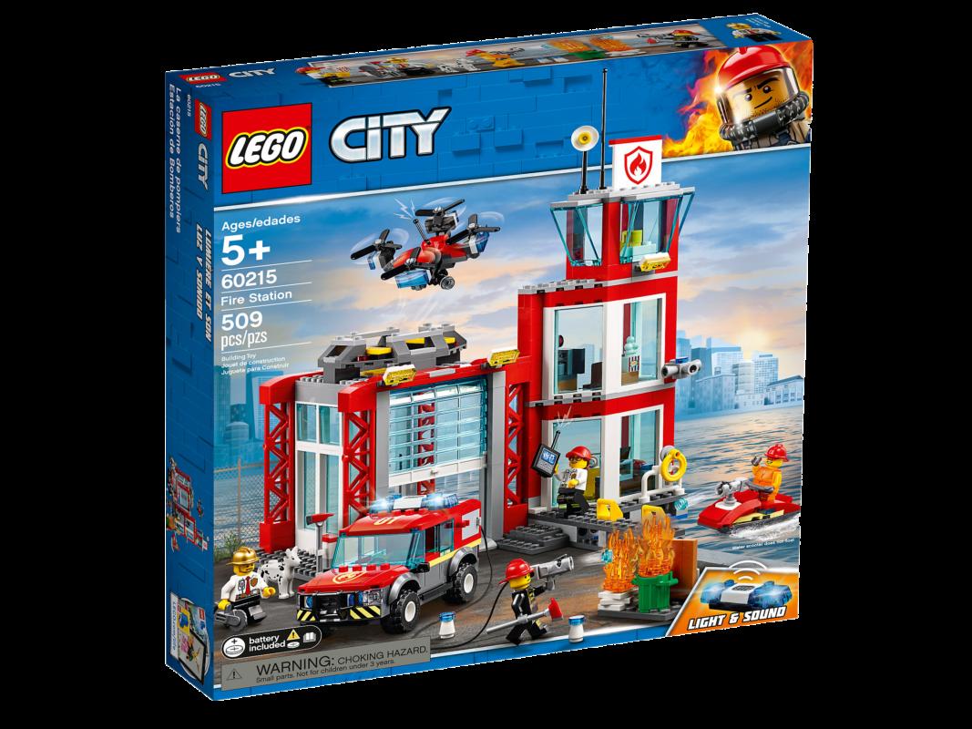 Lego City 60215 | Feuerwehr-Station | günstig kaufen