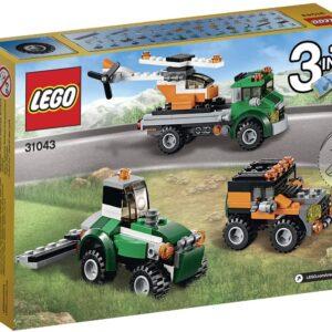 Lego Creator 3in1 31043 | Hubschrauber Transporter | 2