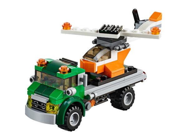 Lego Creator 3in1 31043 | Hubschrauber Transporter | 3