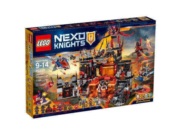 Lego Nexo Knights 70323   Jestros Vulkanfestung   günstig kaufen