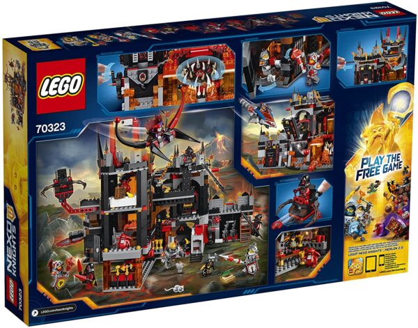 Lego Nexo Knights 70323   Jestros Vulkanfestung   2