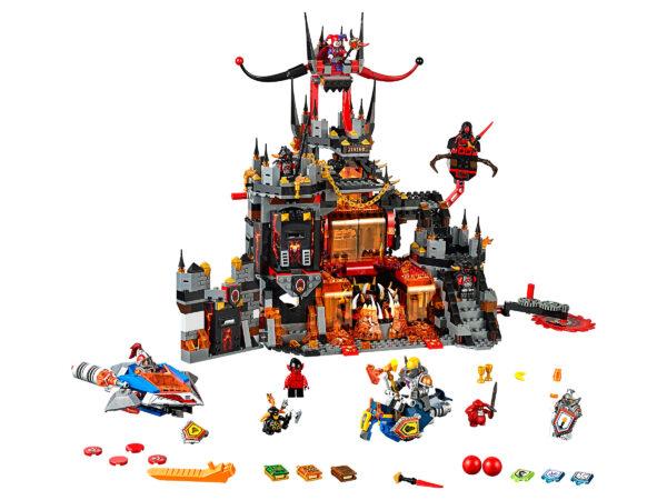 Lego Nexo Knights 70323   Jestros Vulkanfestung   3