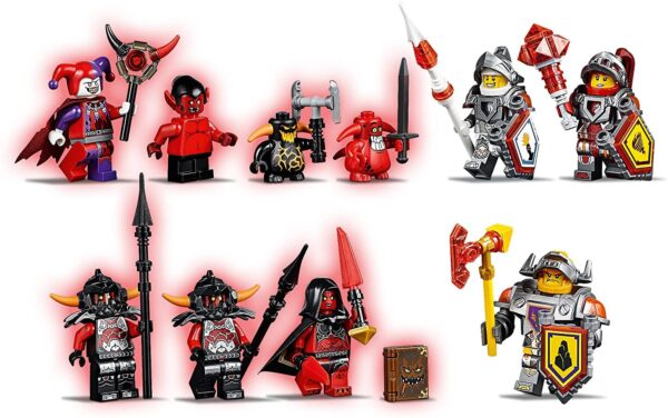Lego Nexo Knights 70323   Jestros Vulkanfestung   9
