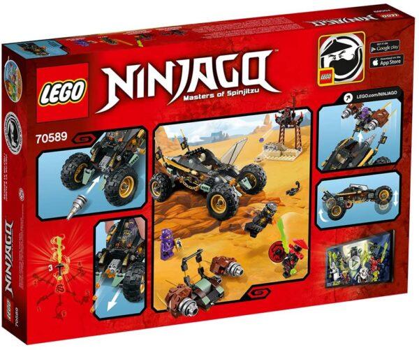 Lego Ninjago 70589 | Felsen-Buggy | 2