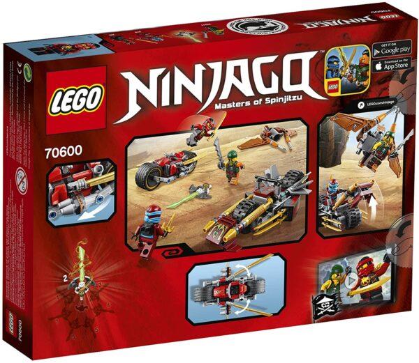 Lego Ninjago 70600 | Ninja-Bike Jagd | 2