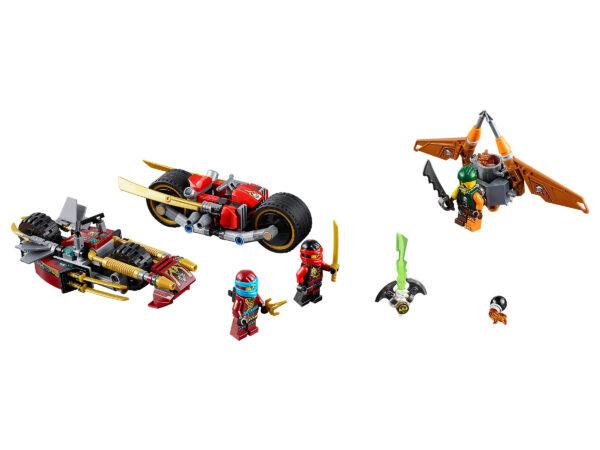 Lego Ninjago 70600 | Ninja-Bike Jagd | 3