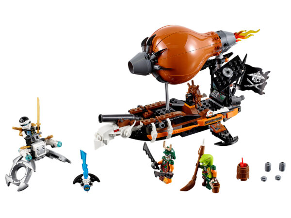 Lego Ninjago 70603   Kommando-Zeppelin   3