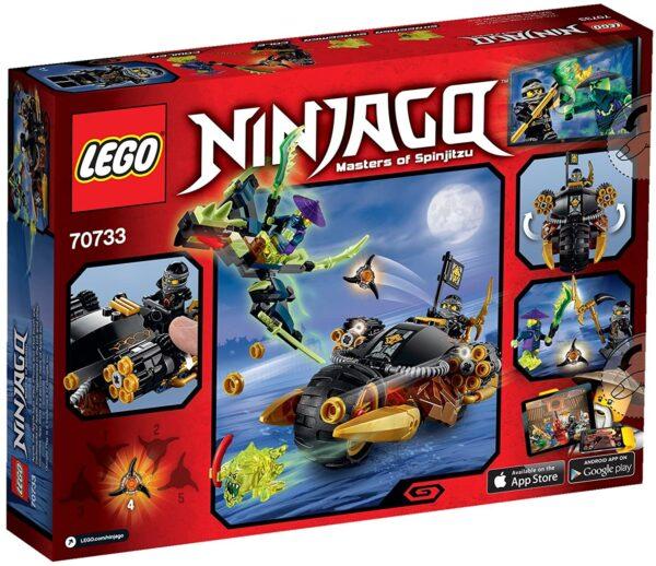Lego Ninjago 70747 | Cole's Felsenbrecher | 2