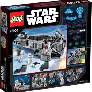 Lego Star Wars 75100   First Order Snowspeeder   2