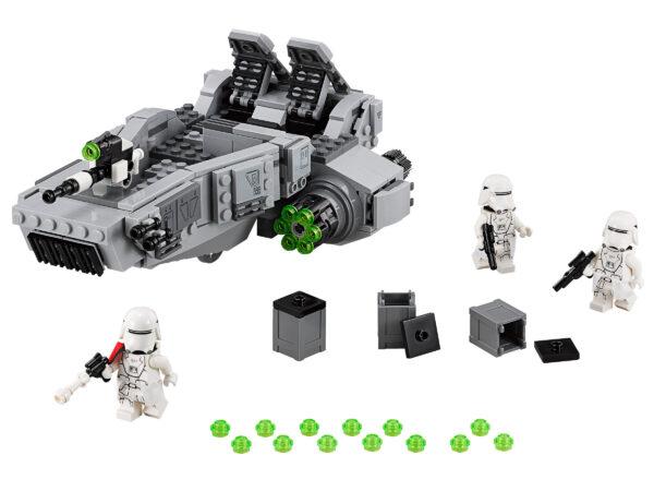 Lego Star Wars 75100   First Order Snowspeeder   3
