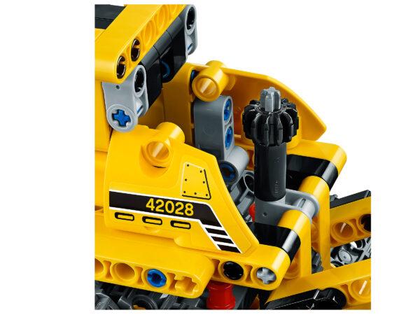 Lego Technic 42028 | Bulldozer | 6