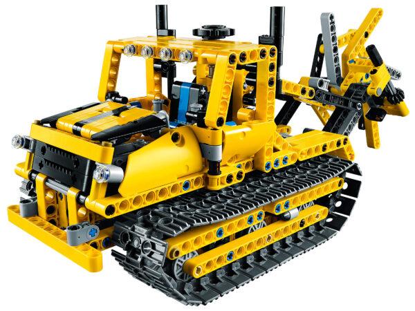 Lego Technic 42028 | Bulldozer | 7