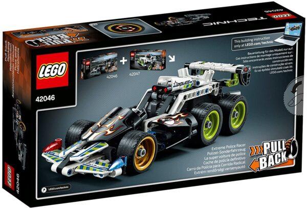 Lego Technic 42046 | Fluchtfahrzeug | 2