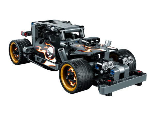 Lego Technic 42046 | Fluchtfahrzeug | 5
