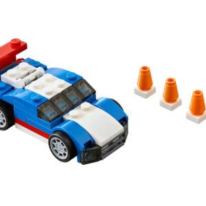 LEGO Creator Blauer Rennwagen 31027   2