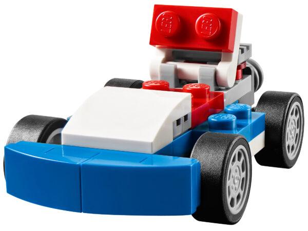LEGO Creator Blauer Rennwagen 31027   3