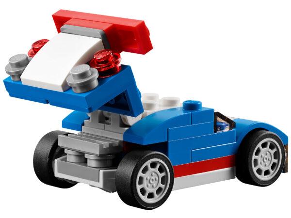 LEGO Creator Blauer Rennwagen 31027   6