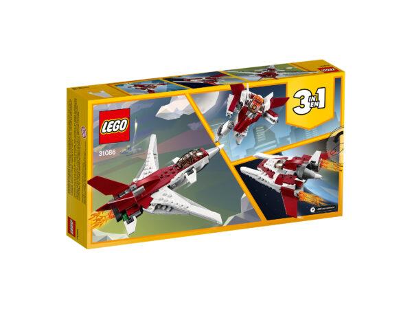 LEGO Creator Flugzeug der Zukunft 31086 | 2