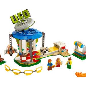 LEGO Creator Jahrmarktkarussell 31095 | 3