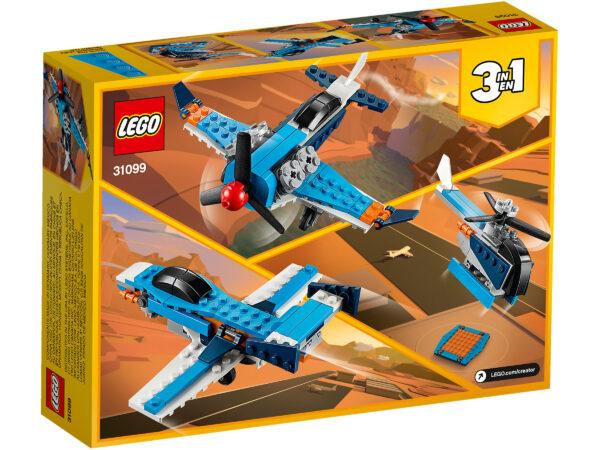 LEGO Creator Propellerflugzeug 31099 | 2