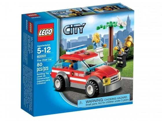 LEGO City Feuerwehr-Einsatzwagen 60001 | günstig kaufen