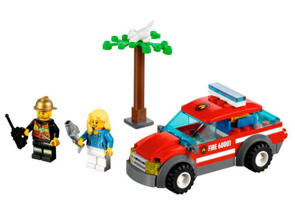 LEGO City Feuerwehr-Einsatzwagen 60001 |