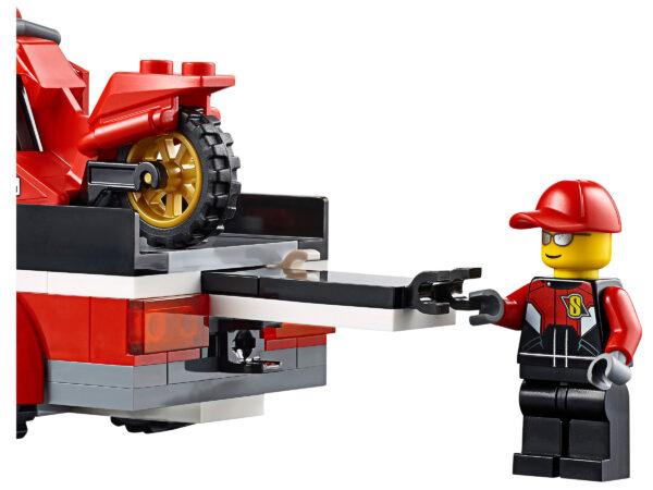 LEGO City Rennmotorrad-Transporter 60084 | 4