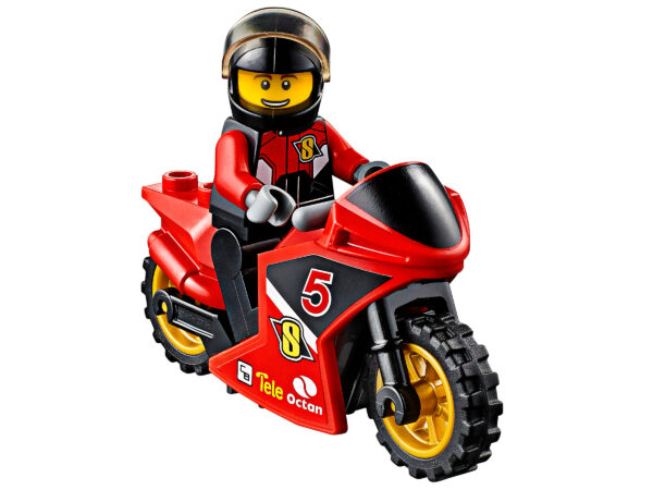 LEGO City Rennmotorrad-Transporter 60084 | 6