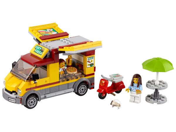 LEGO City Pizzawagen 60150 | 3