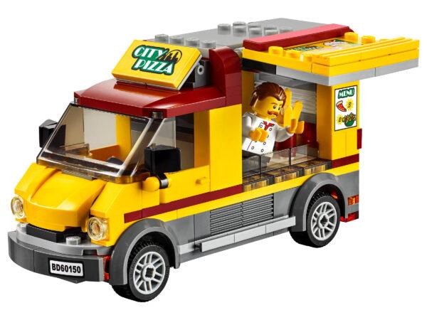 LEGO City Pizzawagen 60150 | 4